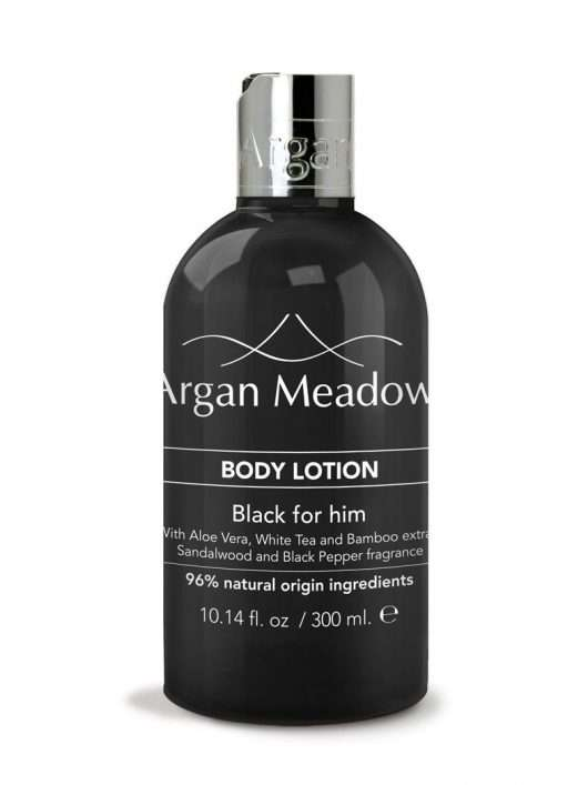 BODY LOTION <br> Black for Him