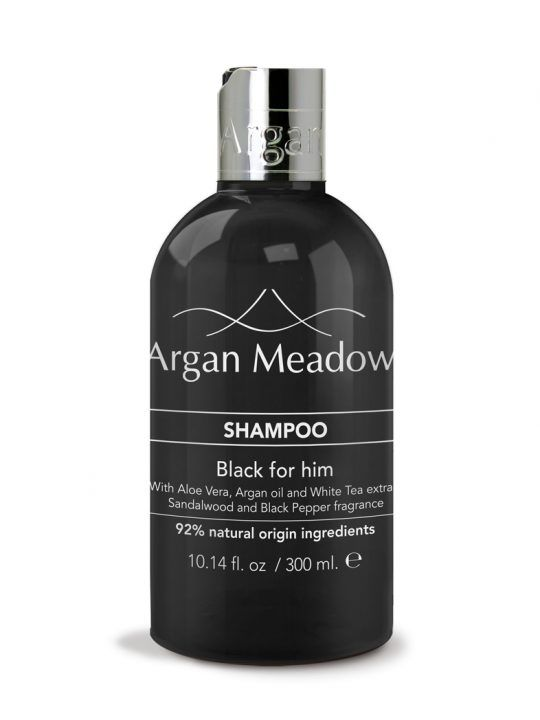 SHAMPOO <br> Black for Him