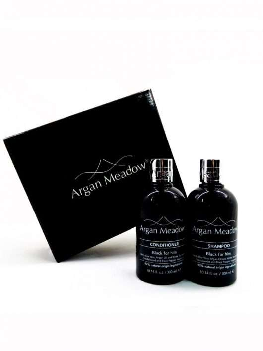 HEALTHY HAIR <br> Black For Him Collection